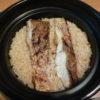 HARIO「フタがガラスのご飯釜」 で鯛めしを炊いてみました