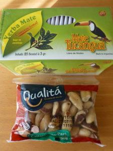 マテ茶とブラジルナッツ