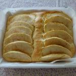 ホーローバットで作る「りんごのマフィン(米粉入り)」