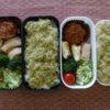 最近のお弁当