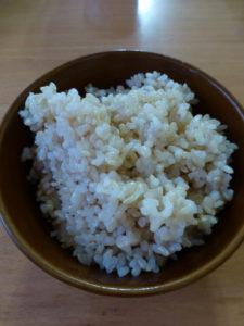 自家製発芽玄米
