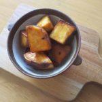 砂糖不使用のほくほく大学芋を作りました。