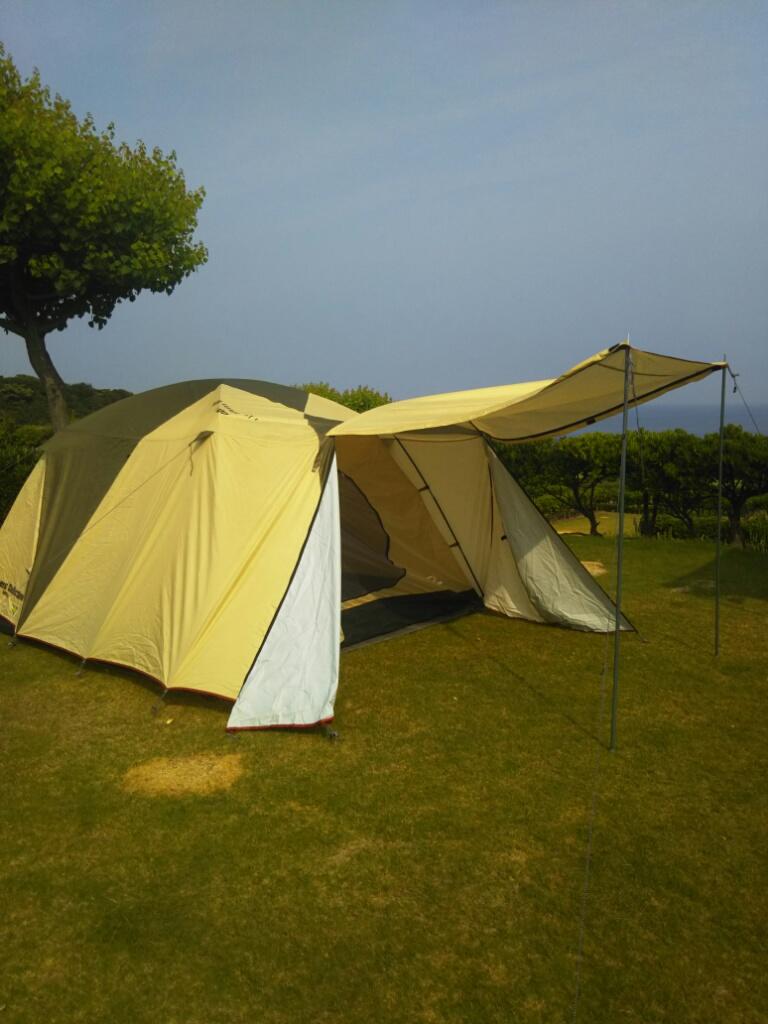 芝政キャンプ場テント